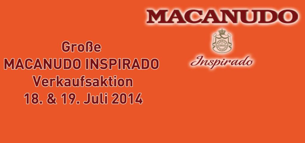 Macanudo Verkaufsaktion